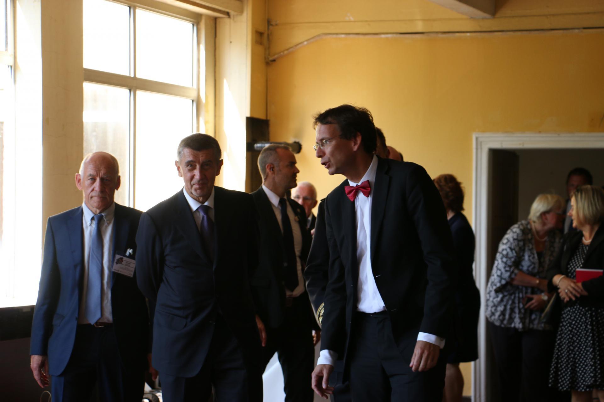 Arrivée de Mr Andrej Babiš, Premier Ministre tchèque