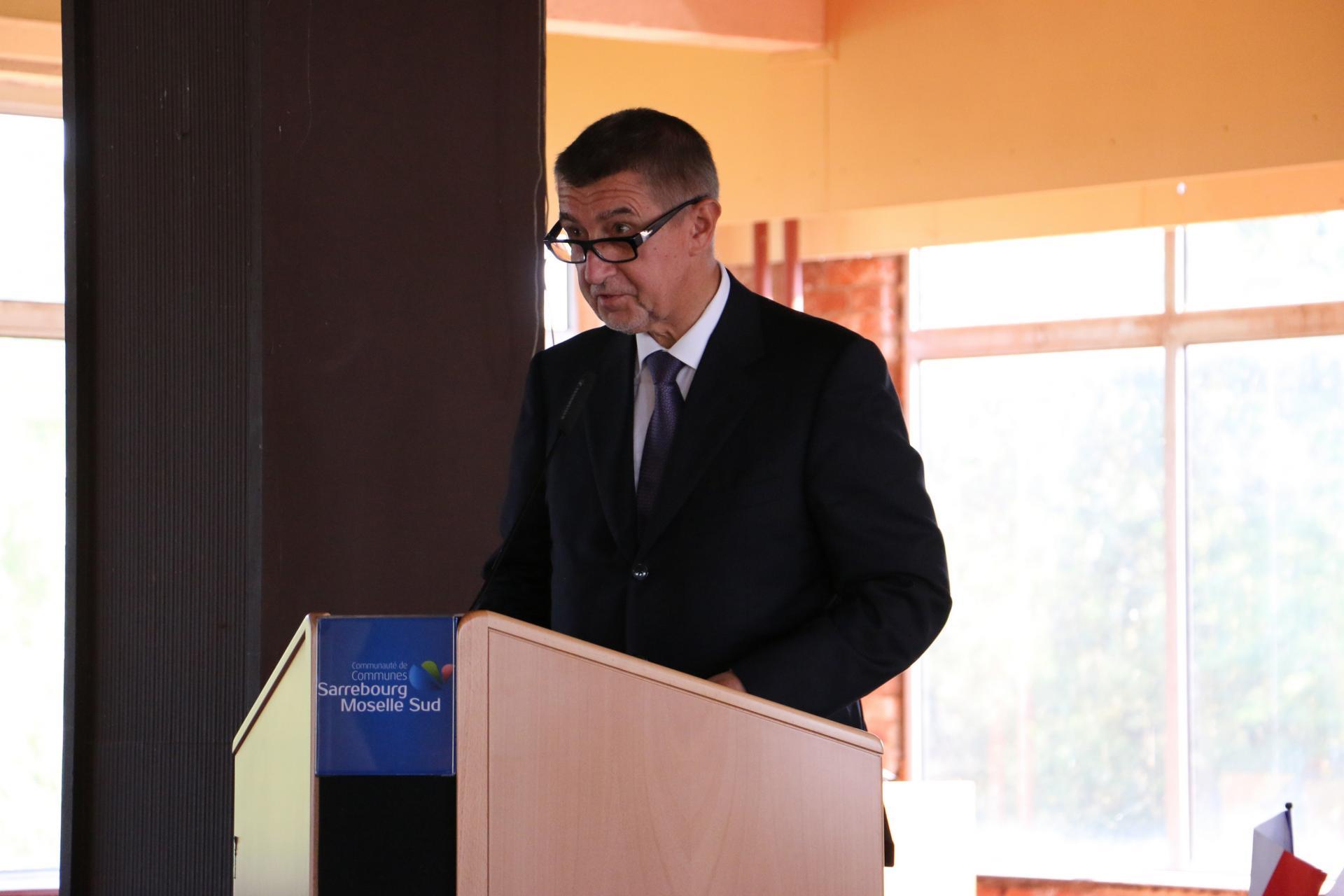 Discours du Premier Ministe de la République tchèque, Andrej Babiš