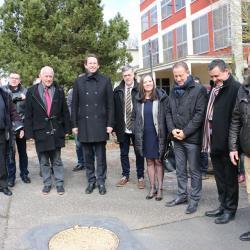 Visite de l'excellence Mr Petr Drulak, Ambassadeur de la République Tchèque en France