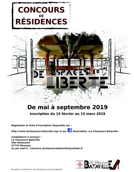 Affiche concours residences 2019 def