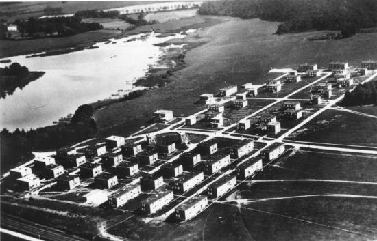 Vue aerienne 1937